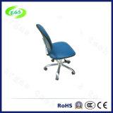 Blauer lederner ESD Stuhl PU-für Cleanroom-Büro-Labor (EGS-3311-GLL)