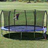 [17فت] حديقة لعبة, لعبة [ترمبلين] مع أمان إحاطة لأنّ بالغ أو جدي