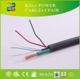 Siamese Kabel van de Kabel van de Macht van China Kx6+ de Coaxiale