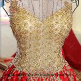 Vestito da sera di lusso A - riga vestiti da cerimonia nuziale del merletto
