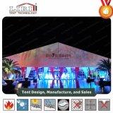 Tienda de aluminio blanca Pasillo de la boda del PVC de 1500 personas con las cortinas