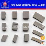 По-разному диамант форм делит на сегменты каменный этап вырезывания для известняка мрамора гранита