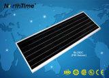 パテントの製品のCe/RoHS/IP65のオールインワンスマートな太陽街灯は承認した