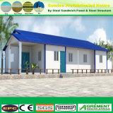 El bastidor de acero de la luz de espárrago metálico estructura Apartamento Casa prefabricados prefabricados