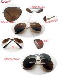 Óculos de sol de metal com lente bifocal clássica e quente (30037)