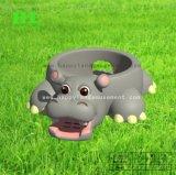 Grappige en Leuke Opblaasbare Springende Uitsmijter Hippo voor Jonge geitjes