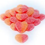 Ohne Zucker beschichtete gummiartige Bären des Pektin-2g des Kalziumd