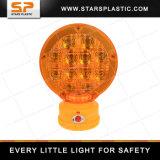 Безопасности дорожного движения цилиндра экструдера светодиодная предупреждающая лампа заграждение для безопасности дорожного движения