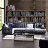 Estilo moderno U sofá de tecido