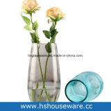 Vaso di vetro arrotondato Tabella creativa moderna