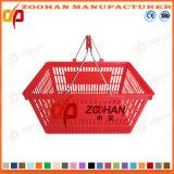 Panier à provisions en plastique de supermarché de bonne qualité (Zhb2)