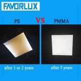 painel Non-Flickering do diodo emissor de luz CRI>80 de 595*595 100lm/W com Ce RoHS