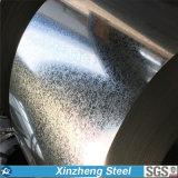 Bobina de aço galvanizada mergulhada quente de Dx51d/bobina do soldado (SGCC, ASTM653)