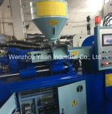 Machine de moulage par injection de patins en PVC, trois couleurs de la machine de patin