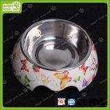 Form Design Melamine Bowl mit Edelstahl Pet Bowl