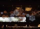 LEDの雪片ライトクリスマスの休日の装飾