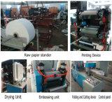 Serviette de papier automatique de l'impression Serviette de pliage de tissus de la machine de produit