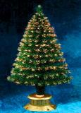Nouveau produit pour 2017 Décoration de Noël Arbre de Noël de 180cm avec LED Multi-Color Diamond Opitc de fibre de la décolleteuse