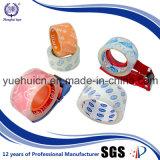 普及したサイズ90yard BOPP水晶テープが付いているイランの市場
