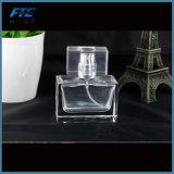 Frasco de perfume 30ml retangular vazio de cristal de varejo