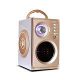 De Spreker van Bluetooth van het Glas van de goede Kwaliteit met FM, Houten Spreker