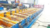 Roulis de matériau de construction formant la machine