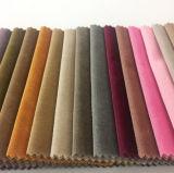 明白なソファーカバーのためのカラーポリエステルイタリアのビロードによって編まれるファブリック