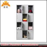 Escola de venda quente barato Dormitório 12 Roupas de aço da porta do gabinete de armário de armazenamento