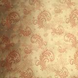 Künstliches PU/PVC lederne Blumen-Muster-Leder