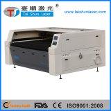 CCD, das Laser-Ausschnitt-Maschine für Applique-Stickerei-Ausschnitt in Position bringt