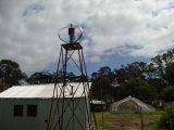 Het Gebruik van het huis Minder 25dB 600W Verticale Turbine van de Energie van de Wind op het Dak