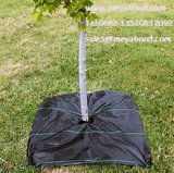 De PP de plástico preto estabilizado contra raios UV Tecidos de malha de cobertura do solo