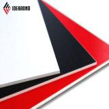 Materiale di alluminio competitivo del coperchio della parete di prezzi PVDF di Ideabond (AF-406)