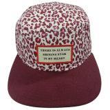 Gorra de béisbol floral de la manera con el pico plano SD15