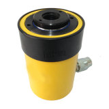 Cylindre séparé de pétrole hydraulique de cric hydraulique de plongeur creux à simple effet