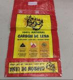 Sacchetto tessuto pp di alta qualità con il sacchetto di mano per 25kg 50kg