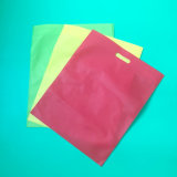 Saco de compra não tecido biodegradável Eco-Friendly, saco de compra