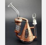Conduite d'eau en verre de technologie neuve de pipe de fumage de filtre de nid d'abeilles
