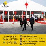 Tenda della tenda foranea del partito della portata del migliore venditore 20m con i coperchi di PVC bianchi
