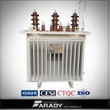 trasformatore a bagno d'olio a tre fasi di 11kv 250kVA