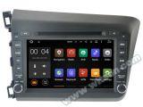 GPS van 5.1 Auto DVD van Witson Androïde voor Honda Nieuwe Burger 2012 met de Steun van ROM WiFi 3G Internet DVR van Chipset 1080P 16g (A5728)