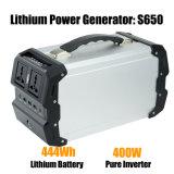 Système solaire portable Accueil générateur de puissance 400W 444Wh