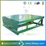 Leveler di bacino fisso idraulico elettrico del contenitore di 12ton 16ton