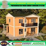 Casas prefabricadas movibles modulares de dos pisos del envase para la oficina que acampa