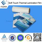 Film de velours de contact en gros et doux pour les produits de papier