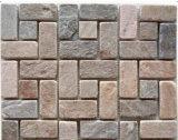 Rostiger Schiefer, Schiefer-Steinplatte, gelber Schiefer, Culturestone