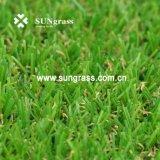 Erba sintetica di falsificazione del tappeto erboso del prato inglese artificiale caldo di vendita 15mm per modific il terrenoare