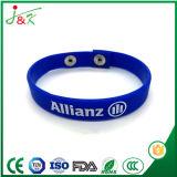 Wristband su ordinazione del silicone, braccialetto di gomma per gli adulti e capretti