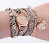 Orologio di pietra del braccialetto delle signore uniche di fascino di Yxl-812 Assisi con il quarzo Movt del Giappone