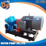 Haute capacité de la pompe d'assèchement des eaux de crue avec remorque